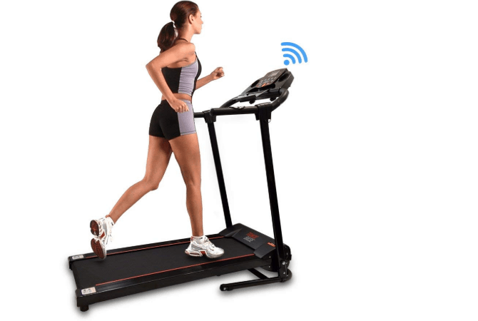 Smart Digital Folding Quiet Treadmill