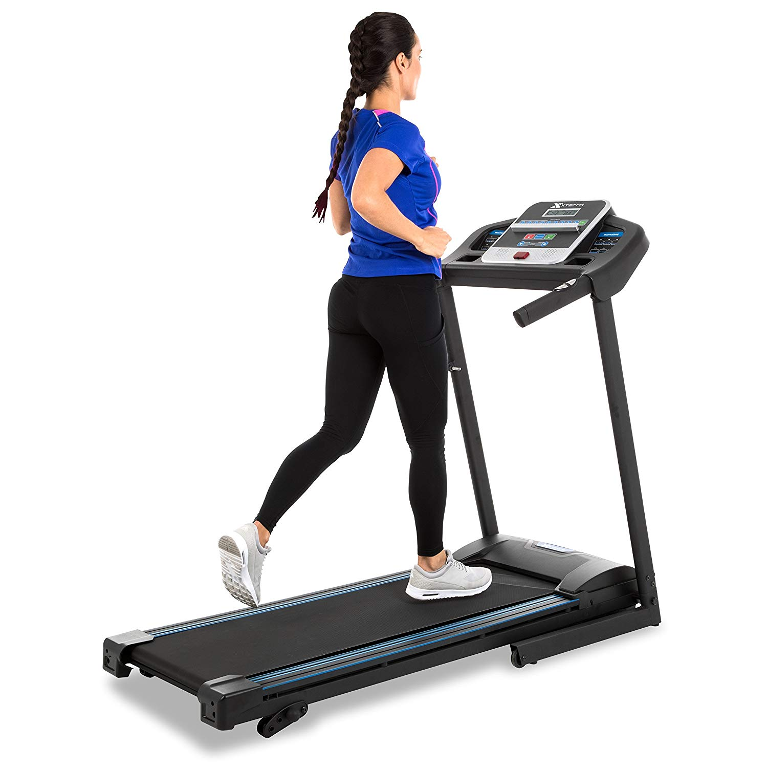 XTERRA Fitness Quiet Treadmill