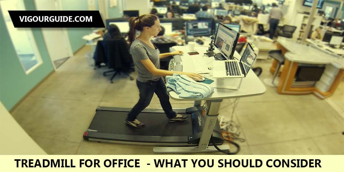 treadmill for the office