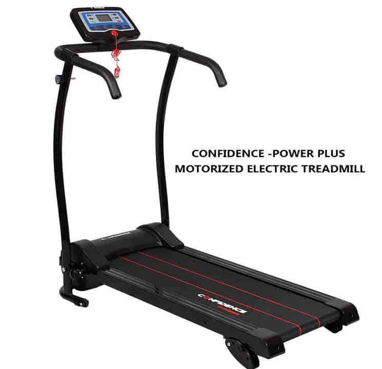 Confidence -Power Plus Motorized Electric Treadmill