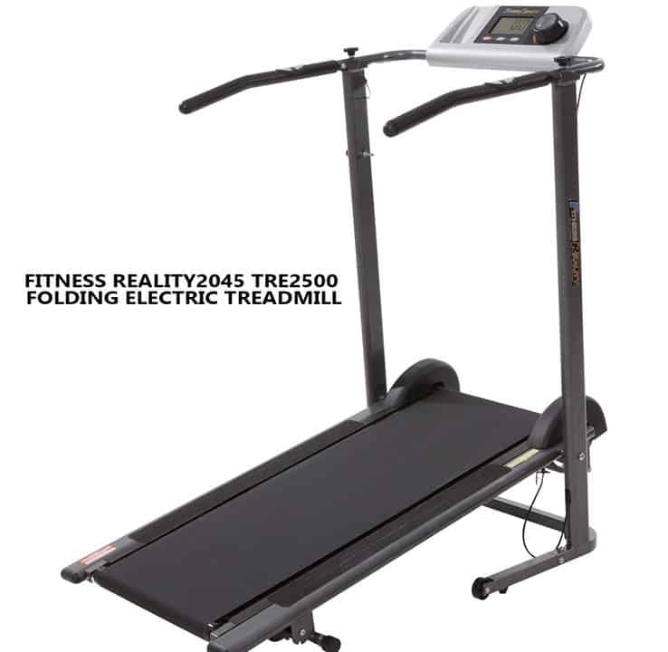 FITNESS REALITY2045 TRE2500 Folding Electric Treadmill