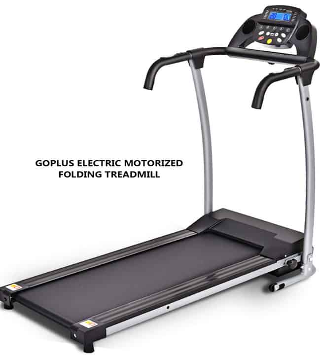 Goplus Electric Motorized Folding Treadmill