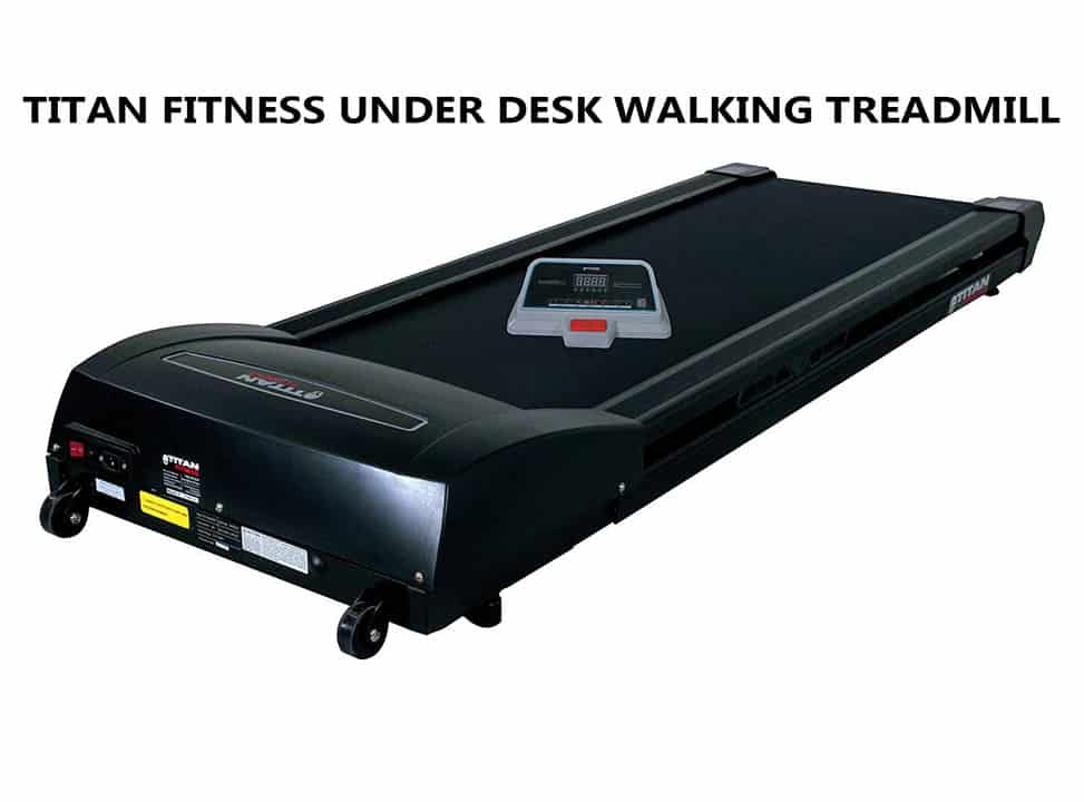 Titan Fitness Under Desk Walking Treadmill