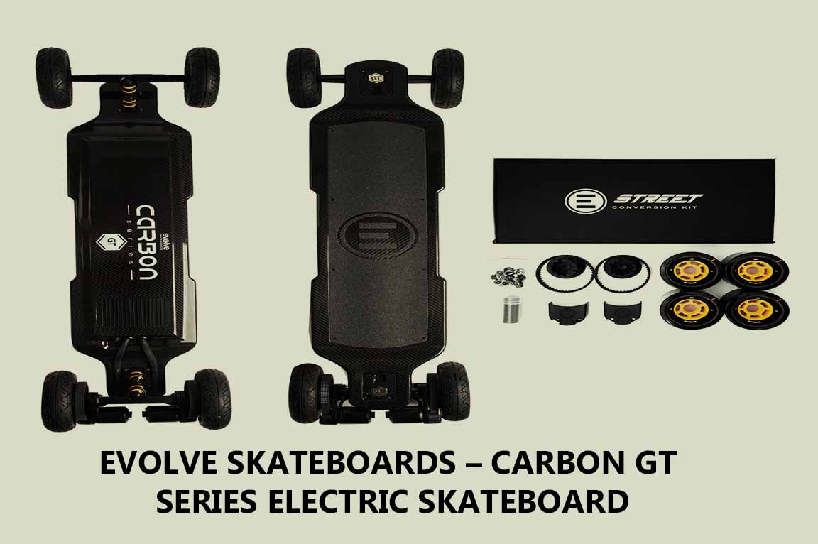 Evolve Skateboards – Carbon GT Series Electric Skateboard