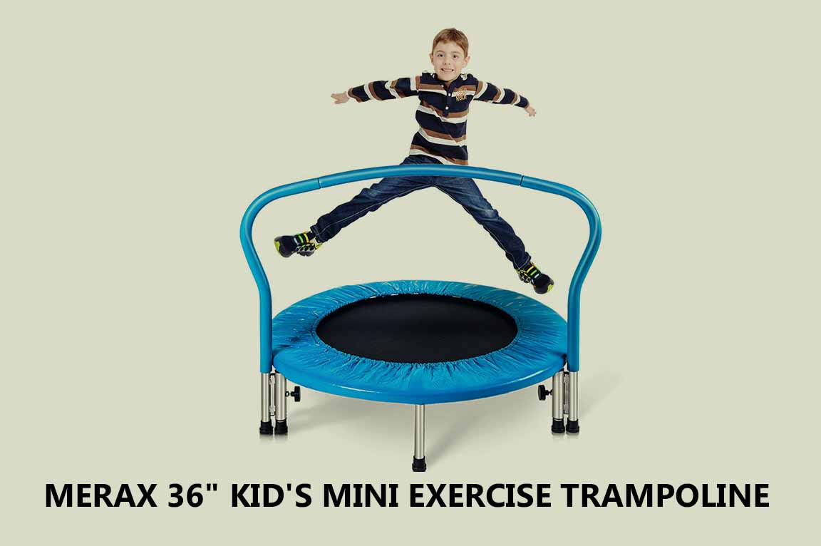 "Merax 36"" Kid's Mini Exercise Trampoline"
