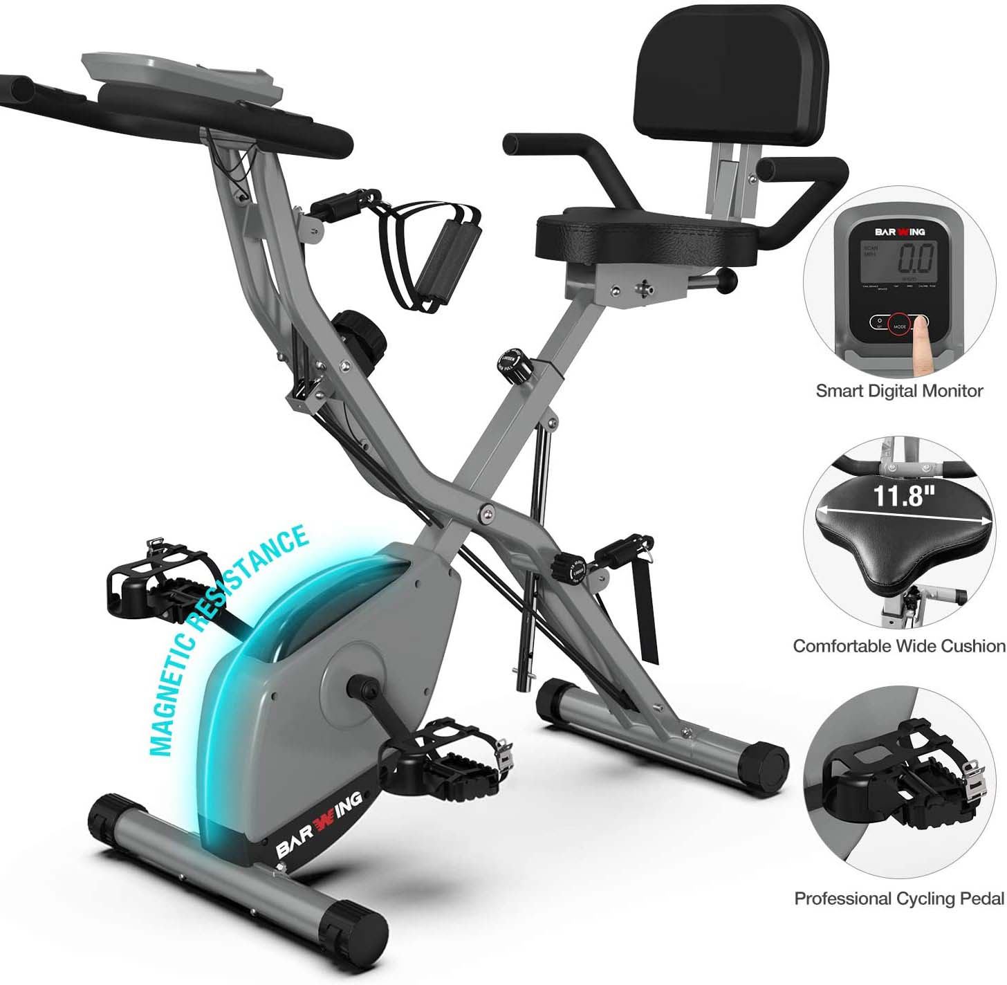 best folding stationary bike for small apartment