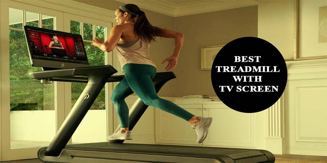best treadmill with TV screen